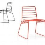 Καρέκλα Park για την B-line σε σχέδιο Neuland Industrie design, ww.lightplus.gr