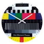 Ρολόι τοίχου Tv Test Page www.octopus.gr