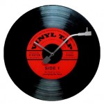 Ρολόι τοίχου Vinyl Record www.frogs.gr